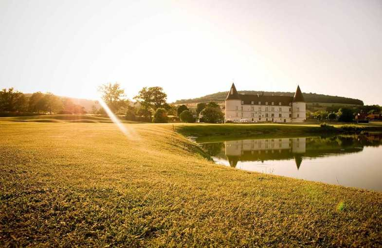 Wine and golf weekend in Burgundy