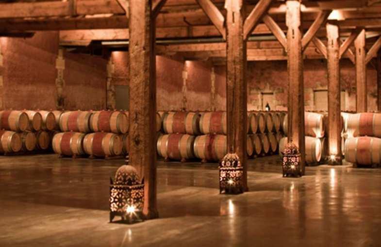 Atelier vin au château du Taillan