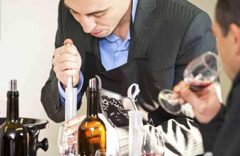 Wine course at Château de Ferrand