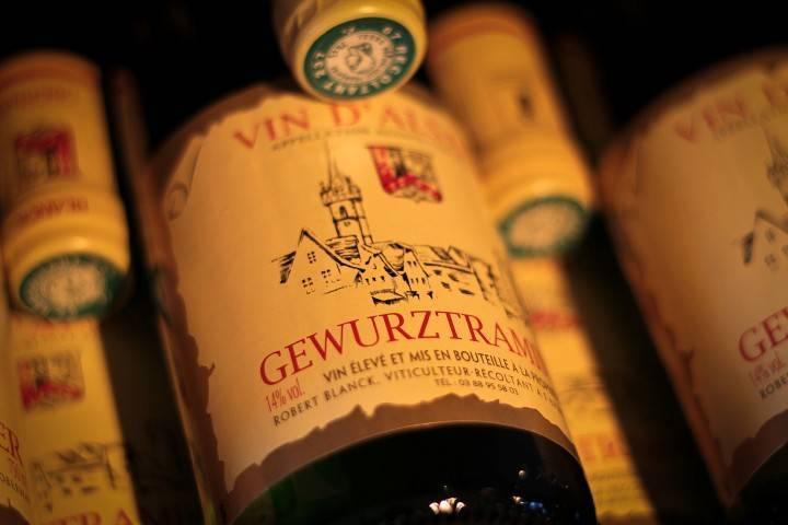 Vin Alsace Gewurztraminer