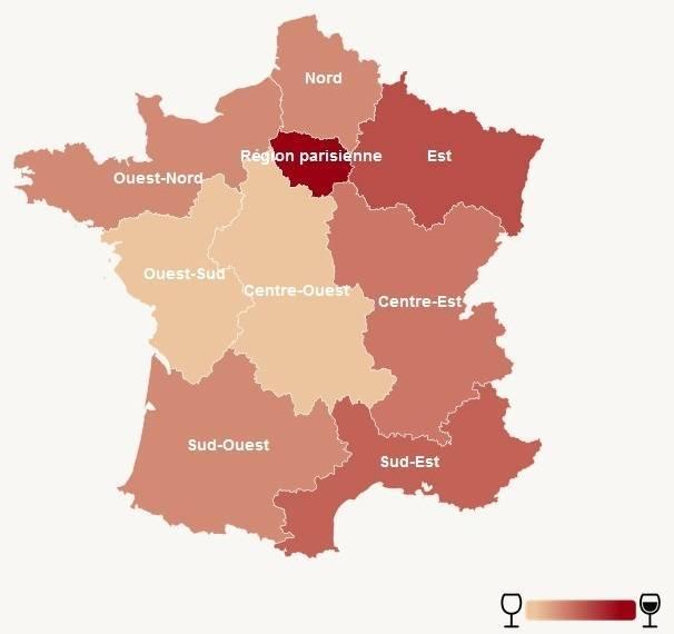 prix moyen vin region