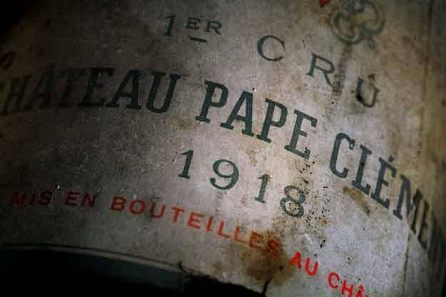 Etiquette Pape Clément