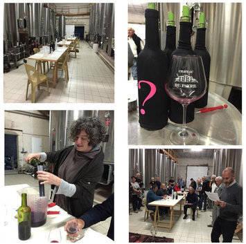 Atelier vin au chateau du payre