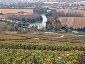 Itinéraire sur la route touristique du champagne
