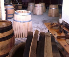 Cooperage workshop
