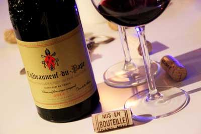 Dégustation route des vins du Rhône