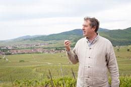 Vigneron Philippe Blanck en Alsace