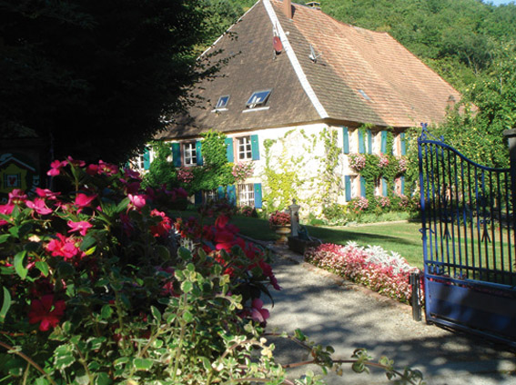 Romantic guest house in Alsace