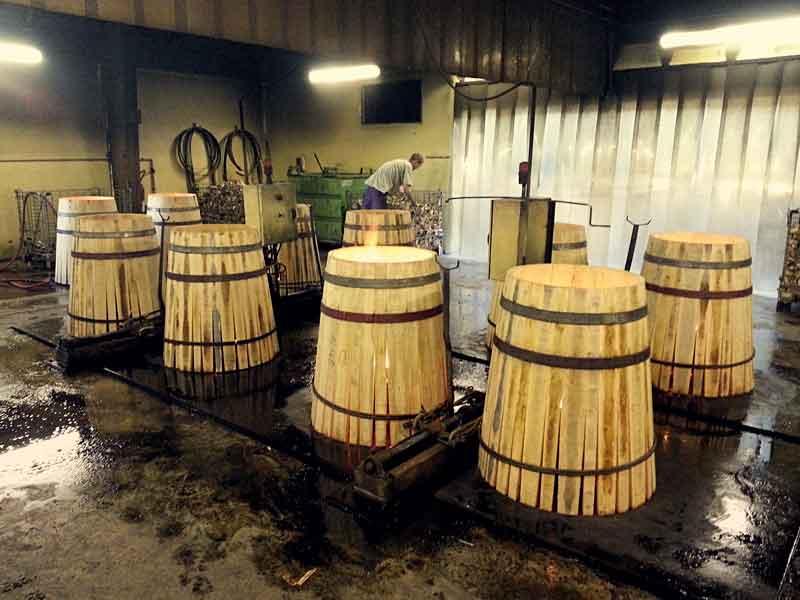 Visite tonnellerie - Bordeaux