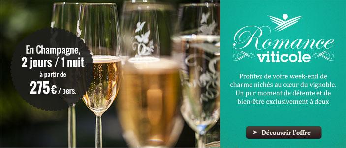 Week-end œnologique en Champagne