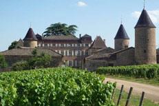 Château de Chasselas entre Bourgogne et Beaujolais