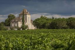 Château de Haute-Serre près de Cahors