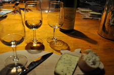 Tasting on the Alsace wine route