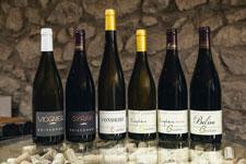 Wines from the domaine Boissonnet in Rhône