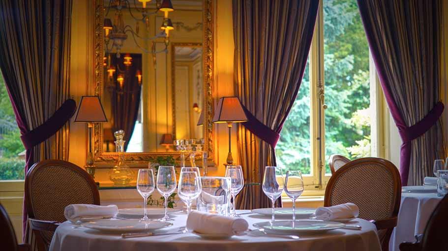 Restaurant gastronomique Le Clos du Cèdre