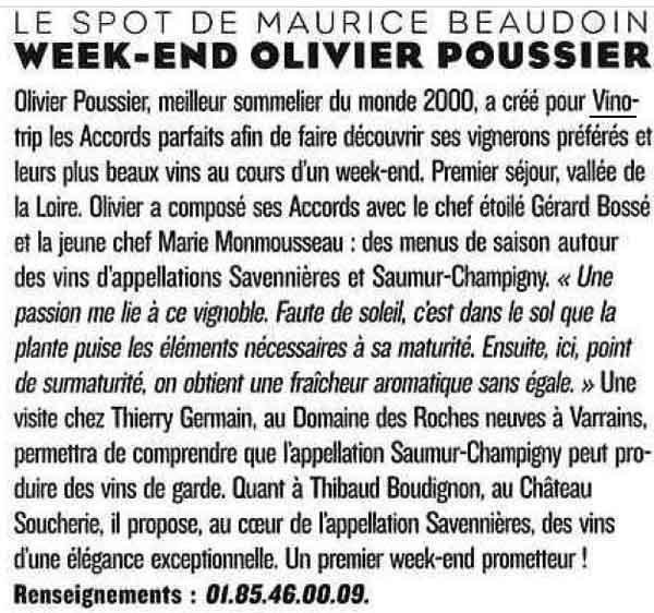 Le Figaro Mag - Presse Vinotrip