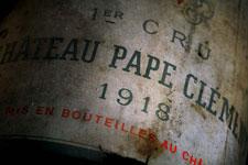Dégustation vin - Château Pape Clément
