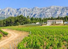 Montagne Sainte-Victoire en Provence